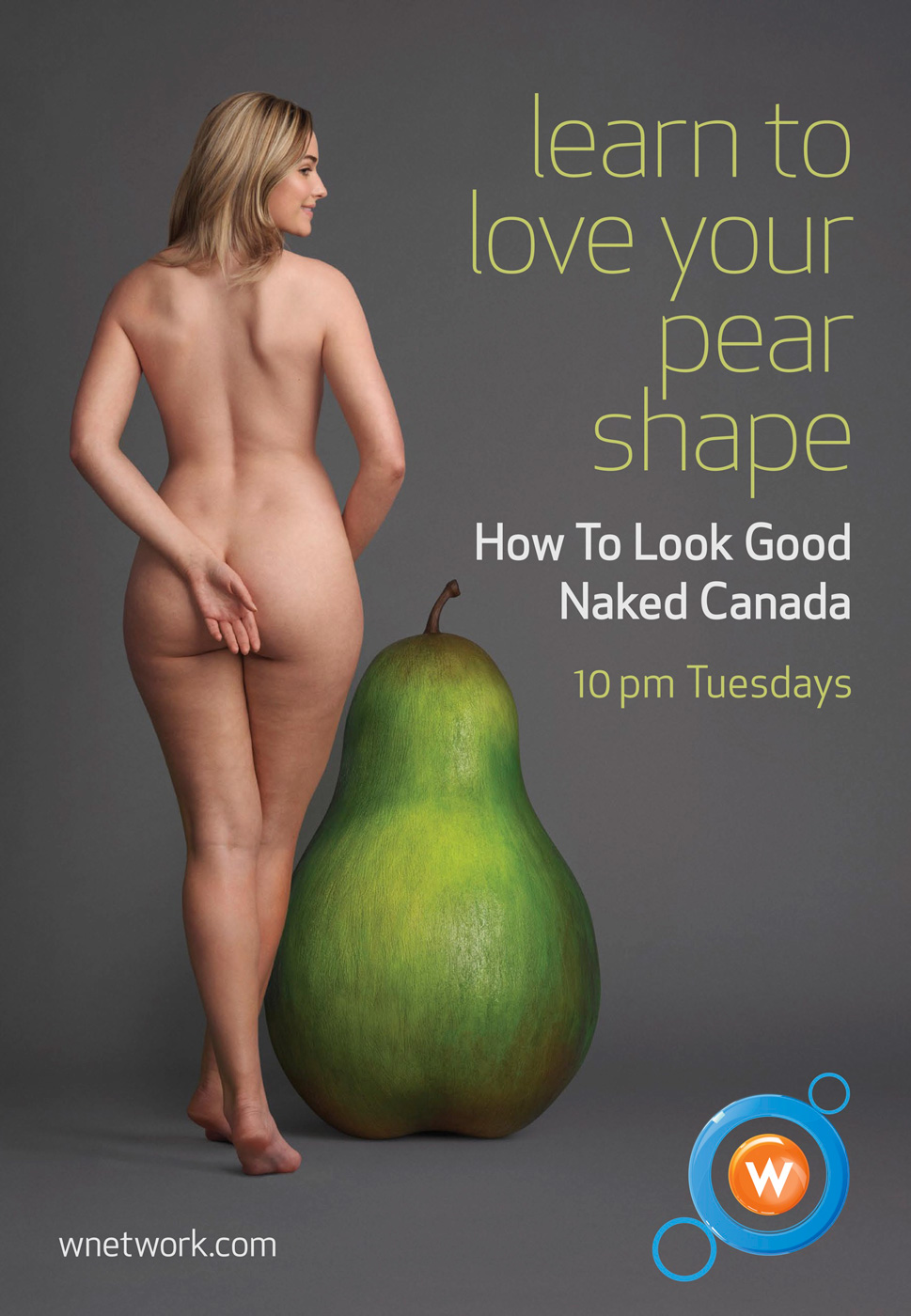 How to look good naked nude